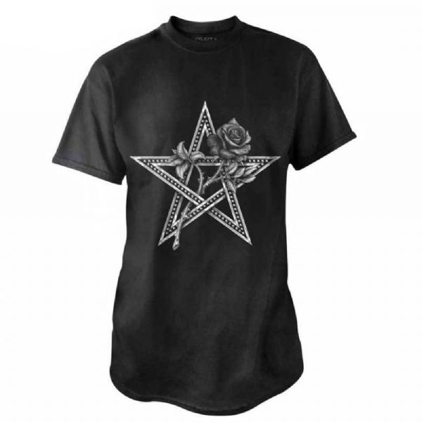 ALCHEMY GOTHIC Ruah Vered Pagan Pentagram T-Shirt
